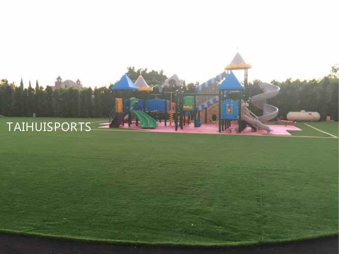 Playground with(26mm thickness)shock pad underneath in USA