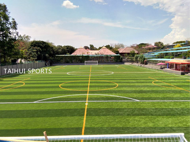 Inauguration of Brand new 4G (non-infill with shockpad) Artificial Turf atTuloy Foundationsa Don Bosco, Zapote, Alabang